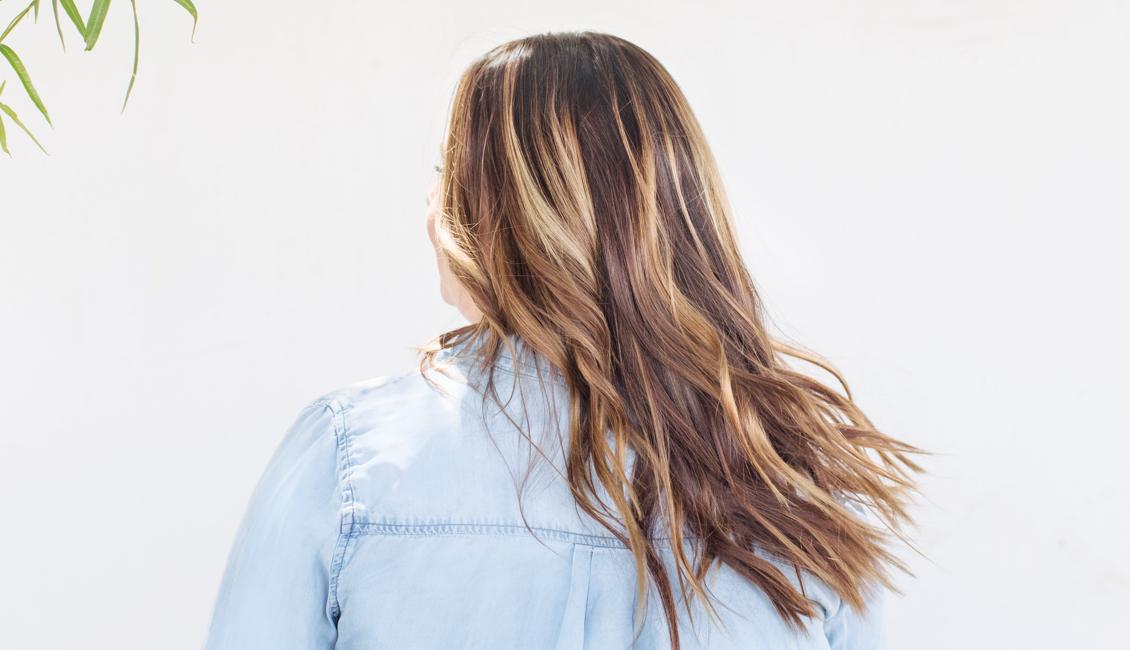 Brunette hair color