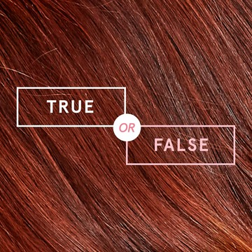 We're discussing 10 hair color rumors to see if they're true or false once and for all in this Color Mastery article.